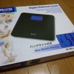 タニタ デジタルヘルスメーター HD-662-BK(ブラック)