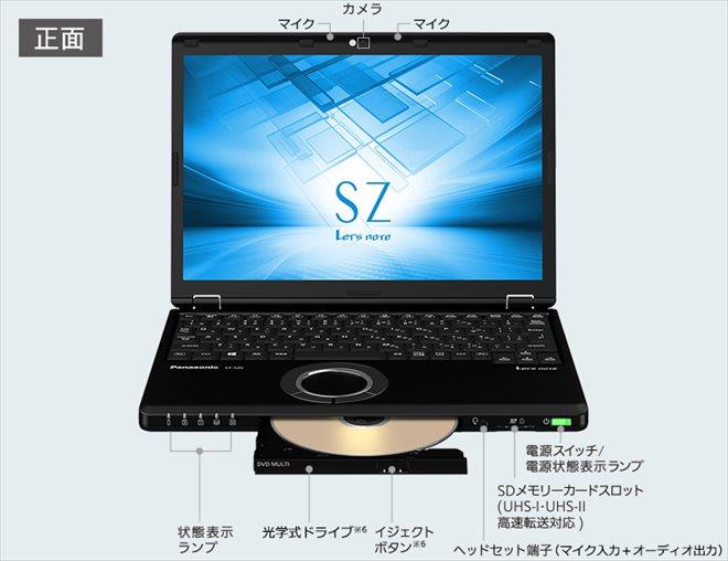 レッツノートCF-SZ6