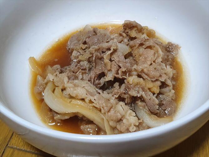 牛めしの具(国産牛肉)
