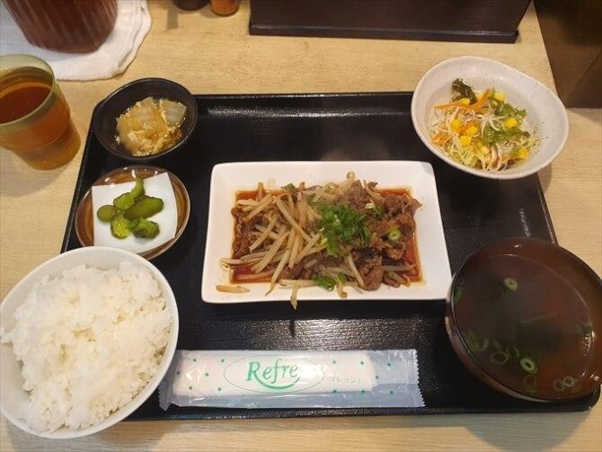 焼肉定食500円